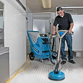 commercial cleaning of tile flooring