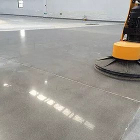Cleaning of Concrete flooring